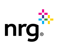 NRG logo, solar company logo,
