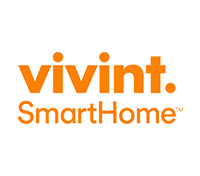 Vivint logo, vivint security logo, home logo,